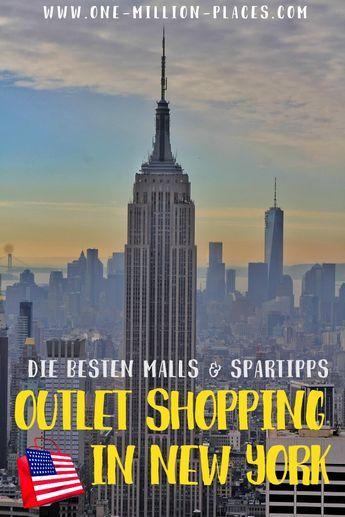 Outlet Shopping in New York? Die besten Malls & Spartipps