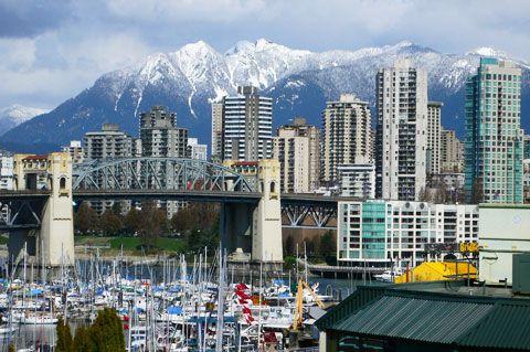 Sail around Granville Island, Vancouver BC.