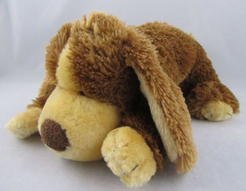 Animal Alley Shaggy Stuffed Brown Dog Plush Animal Long