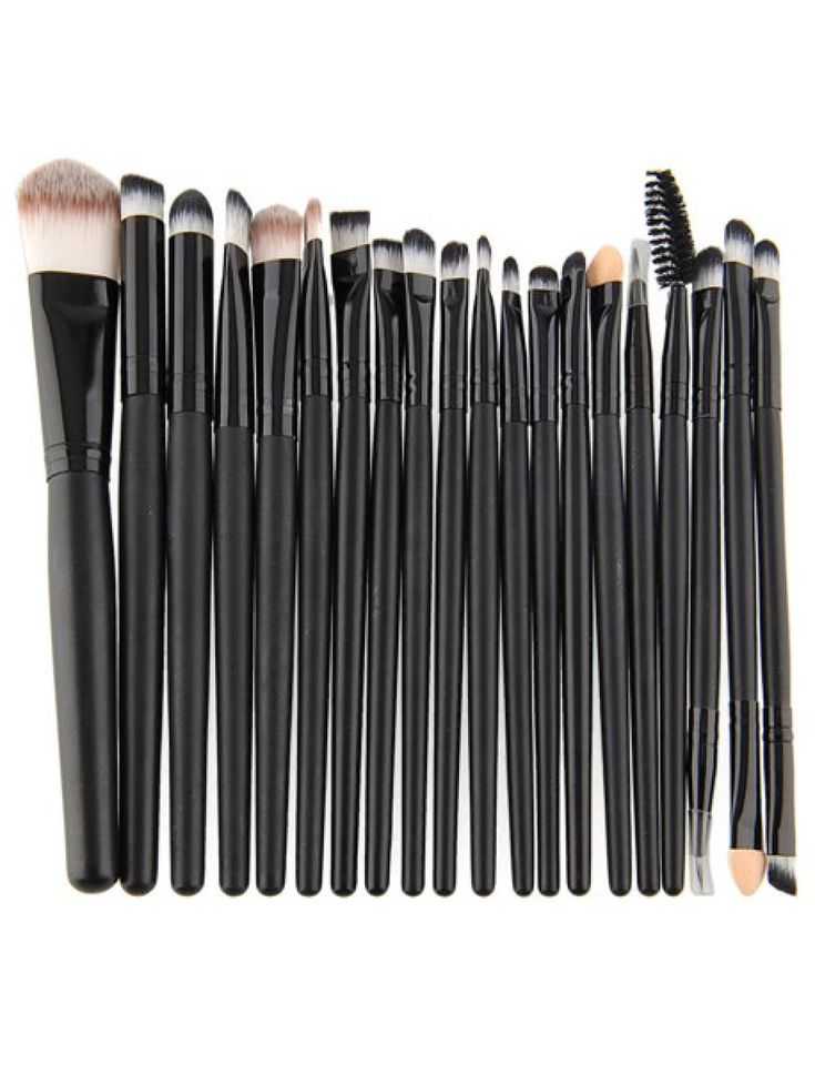 Makeup Brushes by BORNTOWEAR. Professional Makeup 20pcs Brushes Set Powder Foundation Eyeshadow Eyeliner