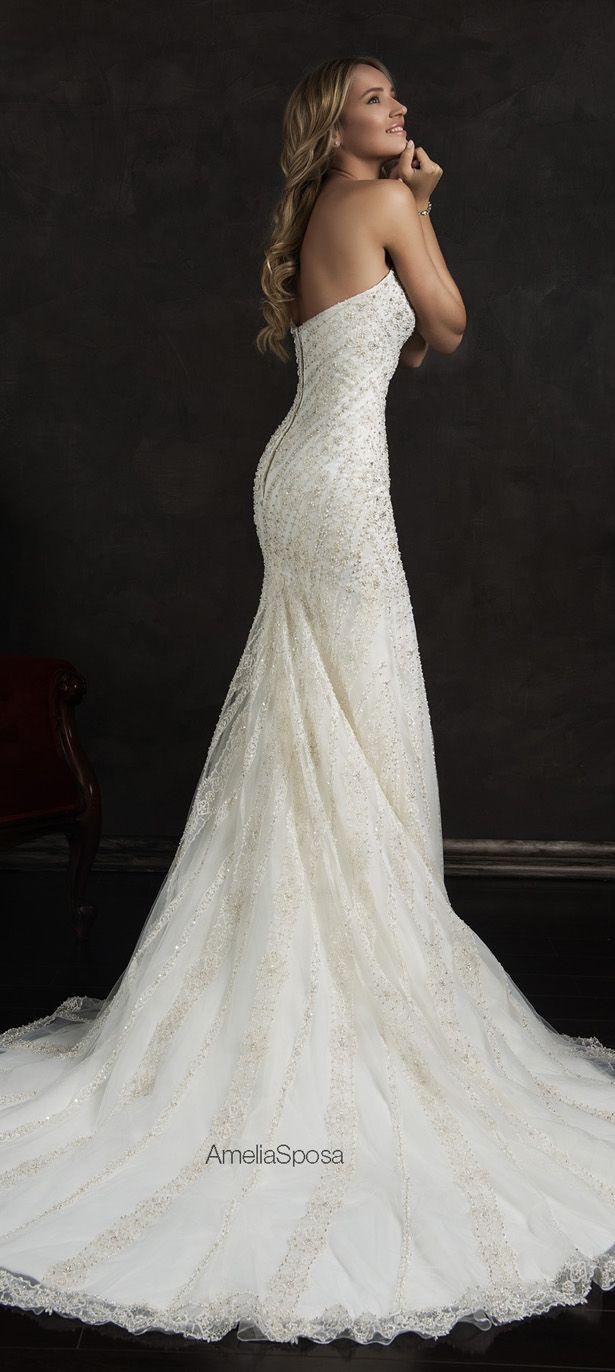 The BEST #WeddingDresses of 2015 - Amelia Sposa 2015 Wedding Dress