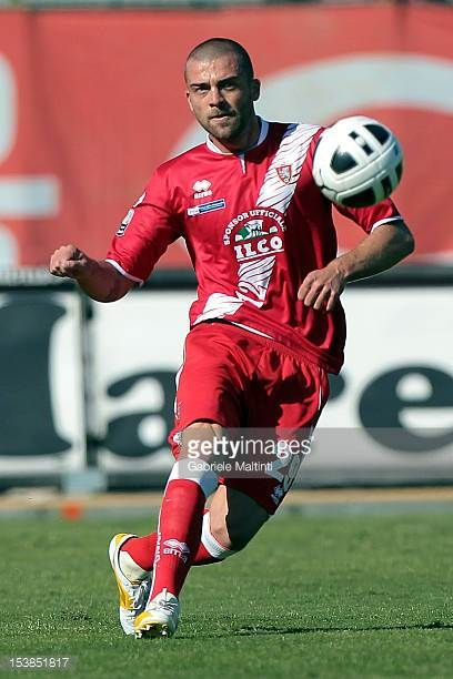 Emanuele Padella of US Grosseto in action during the Serie B match between US Grosseto FC and US Sassuolo at Stadio Olimpico on October 6 2012 in...