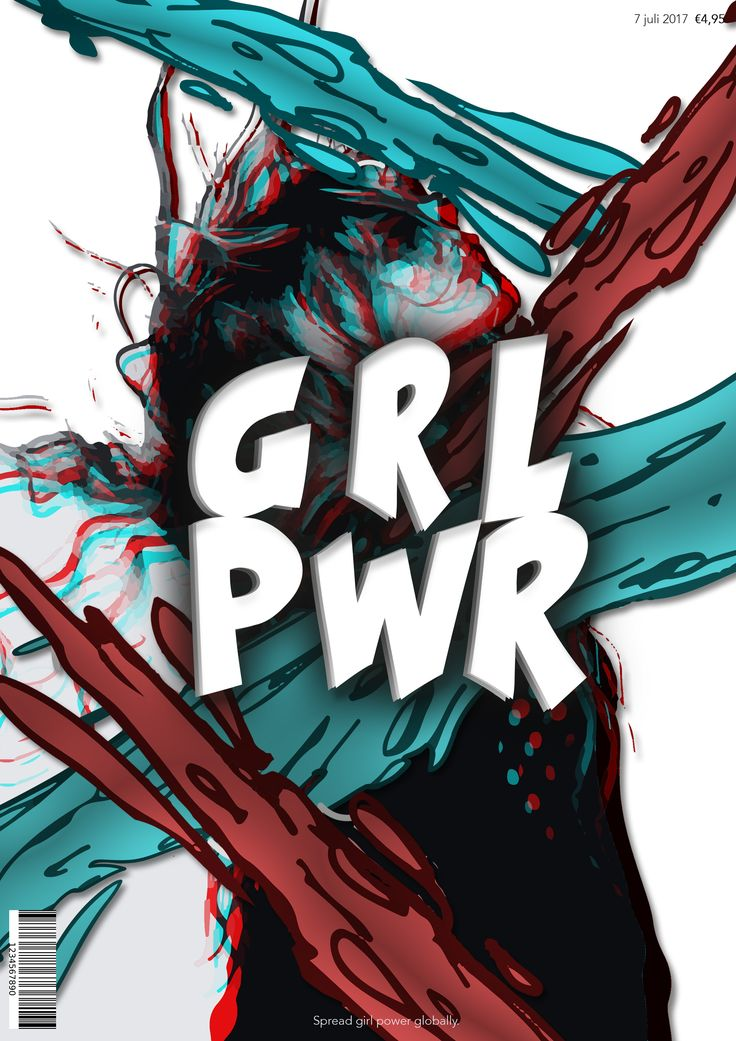 Cover GRL PWR - Fleur Brouwers