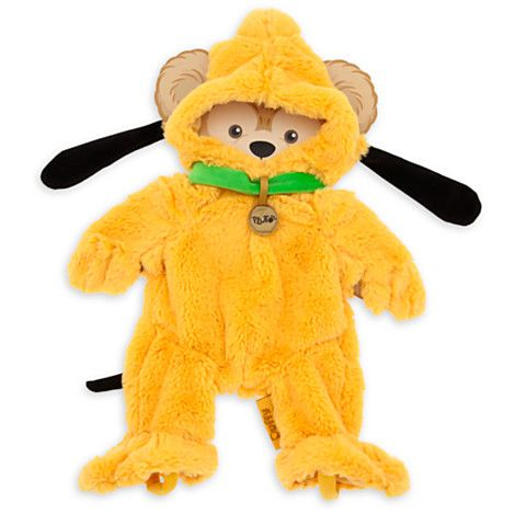 Duffy the Disney Bear Pluto Costume - 17''
