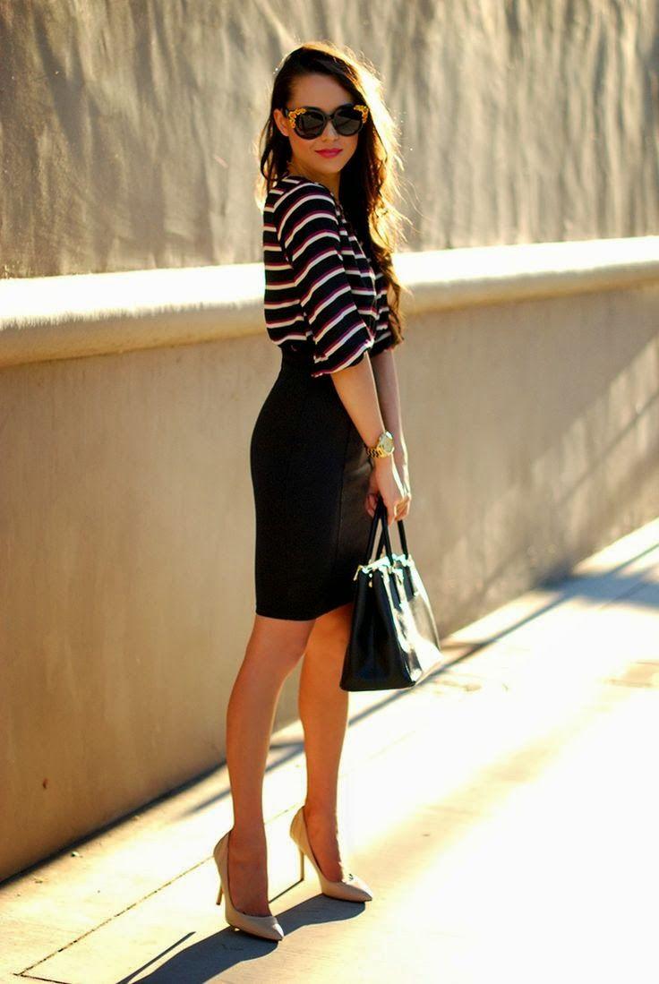 La Chica Bien: El arte de usar faldas de tubo: Pencil Skirt