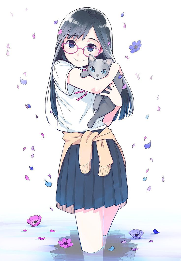 Аниме картинки девушек на аватарку милые