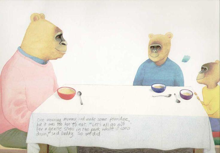 Anthony Browne Illustration.