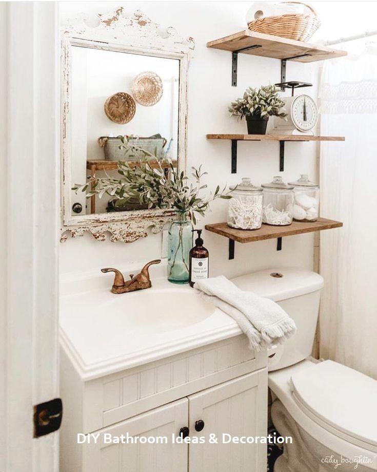20 Cool Bathroom Decor Ideas #bathdecor