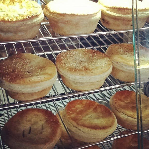 Wagyu Beef Pie Company & Bakehouse pies. Photo by Rini Puccetti of Fudge n Good Coffee in Sheffield. Article for Think Tasmania.