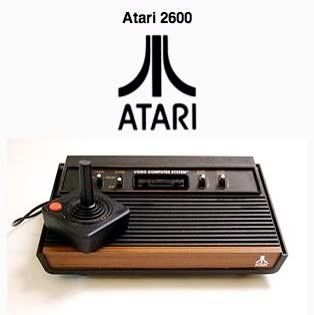 """ATARI - Remember when your """"guy"""" only moved up and down/back and forth. Oh, and he was just a flashing light!"""