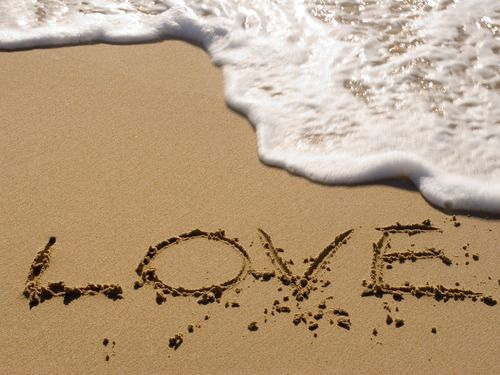 real love can't be washed away by any wave!