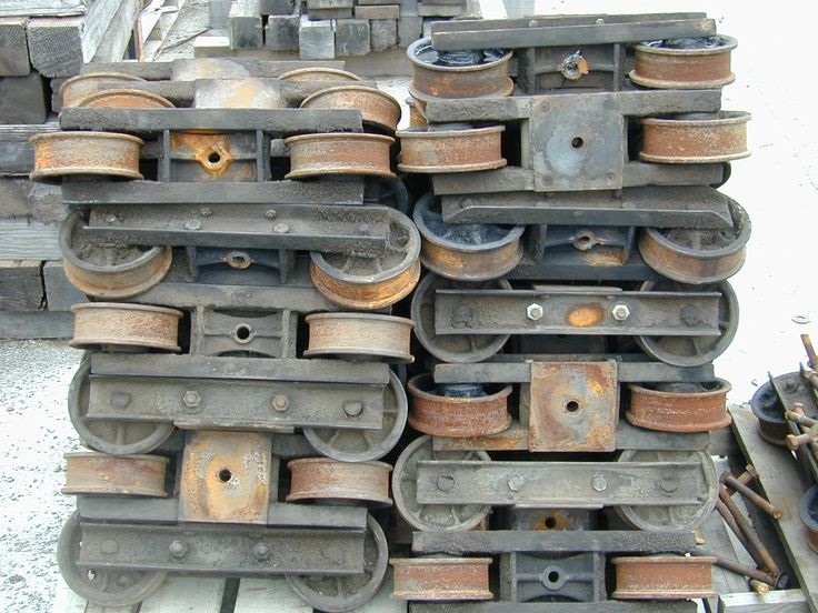Best A Collection Of Rail Wheels Reclaimed From Palco Sawmill 400 x 300