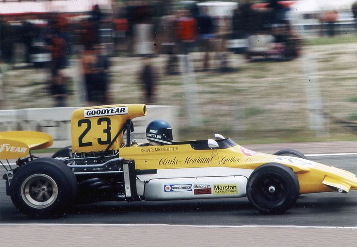 Mike Beuttler, March 721G - Cosworth V8 (Spain 1972)
