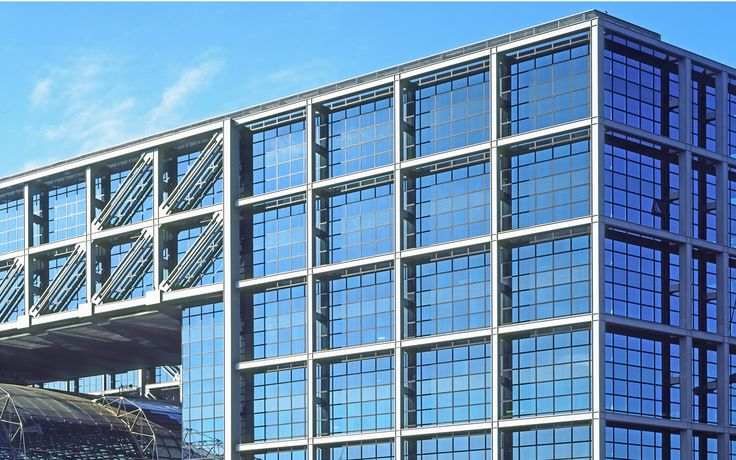 Lehrter Bahnhof. Berlin, Niemcy. Szkło: SGG ANTELIO CLEAR, SGG EMALIT, SGG COOL-LITE SKN 165. #glass #architecture #desing #public_space