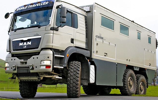 It 39 S An Rv For Billionaires Looks Like A Garbage Truck