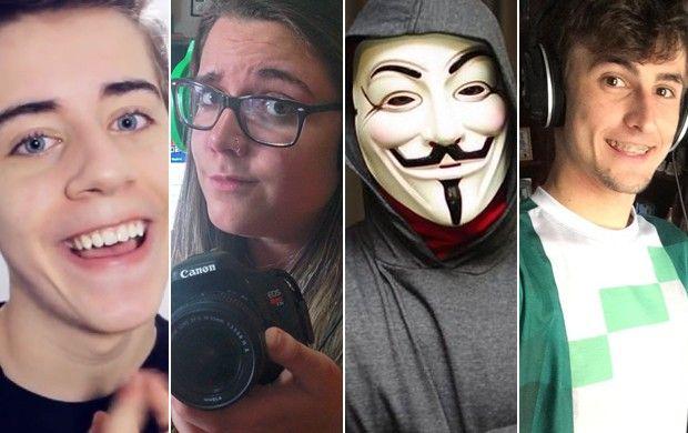 Youtubers brasileiros levam a vida fazendo vídeos de games no YouTube (Foto: G1)