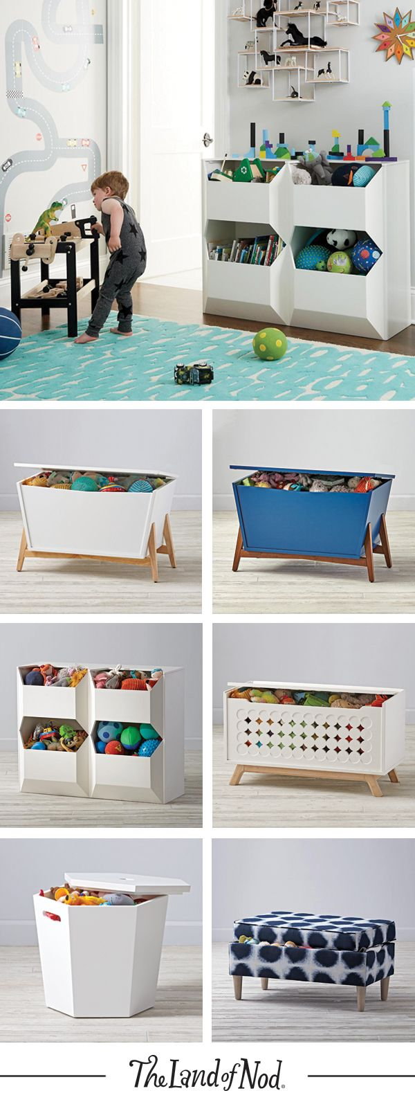 Kids Storage Bench Furniture Toy Box Bedroom Playroom: 230 Best Images About Family-Play Room Combo Ideas On