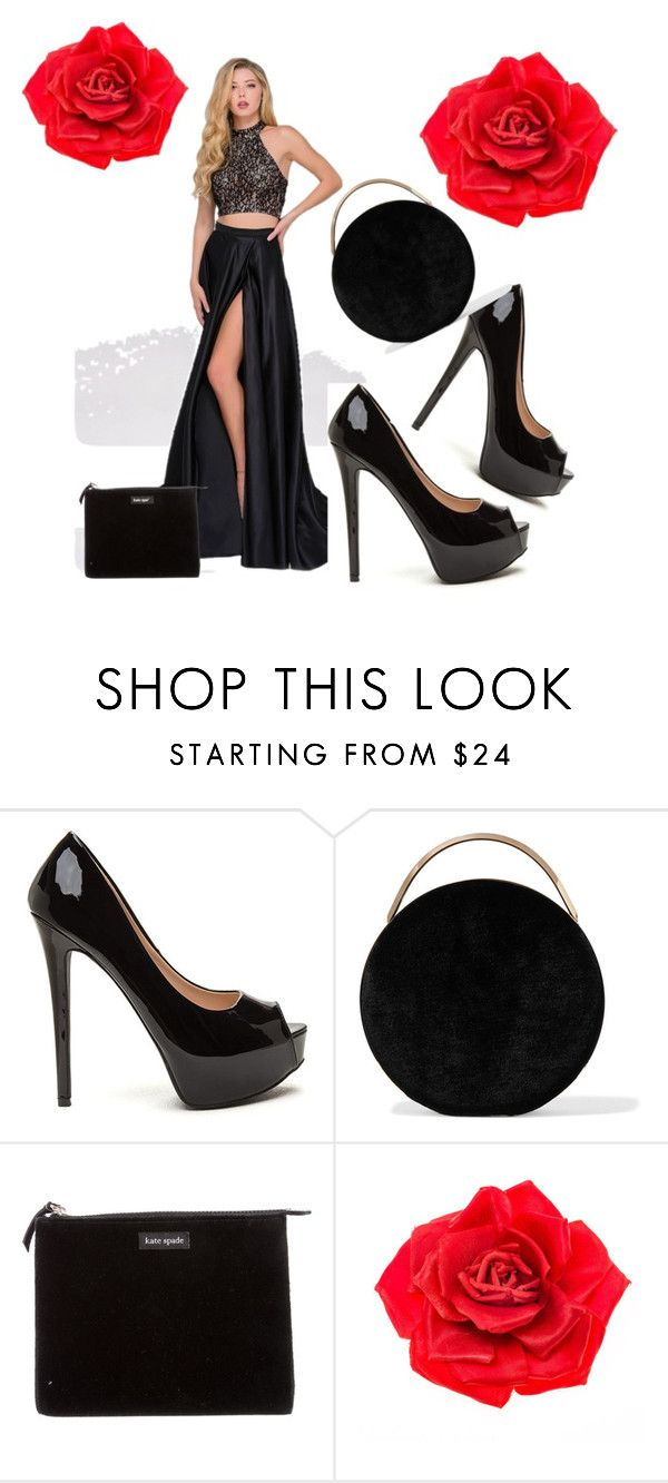 """""""Untitled #147"""" by nusreta-bjelic ❤ liked on Polyvore featuring Eddie Borgo, Kate Spade and Johnny Loves Rosie"""