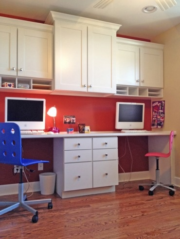 Seigles Office Remodel - Wheelchair Accessible Computer Station
