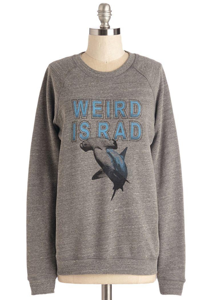 Keep It Unique Sweatshirt | Mod Retro Vintage Sweaters | ModCloth.com