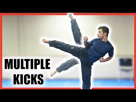 How to Do Multiple Kicks Standing On One Leg| Taekwondo/Martial Arts Tutorial - YouTube