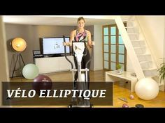 Vélo Elliptique: cardio sans impact efficace avec Lucile Woodward
