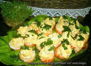 W Mojej Kuchni Lubię..: jajeczne jajka...