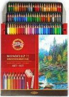 Akvarel.pastelky Mondeluz  72 ks                   3714/72