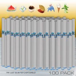 100 Pack - Disposable E-Cigs The 100 Pack of Disposable Puf Cigs Electronic Cigarettes. You can order 100 of your favorite flavor, or any combination of Puf Cigs Disposable E-Cigs for your bundle pack. Each Disposable Puf E-Cig has a soft tip for your comfort. Save big with the Puf Cigs 100 Pack! Taste and feel the quality in our Disposable Electronic Cigarette. Order your 100 pack today! https://pufcigs.com/electronic-cigarette-disposable-100-pack.html #Vaping #ECigs #ElectronicCigarettes…