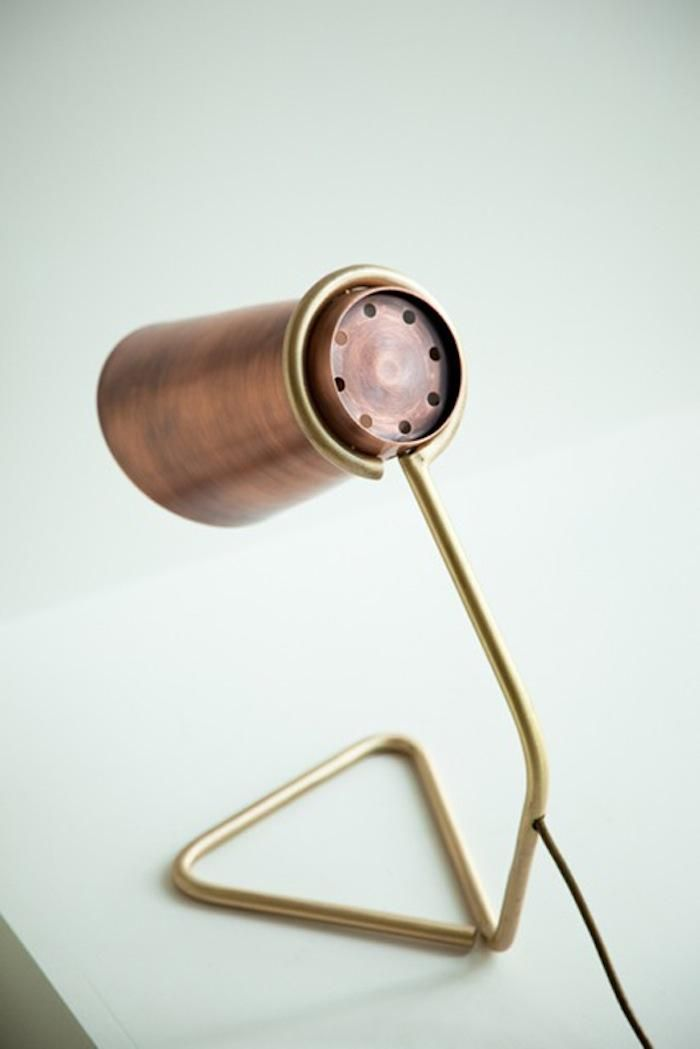 Strand Table Lamp from the back by Clancy Moore Architects, Remodelista