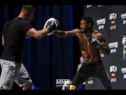 MMA TUF 25 Finale: Michael Johnson Open Workout - MMA Fighting