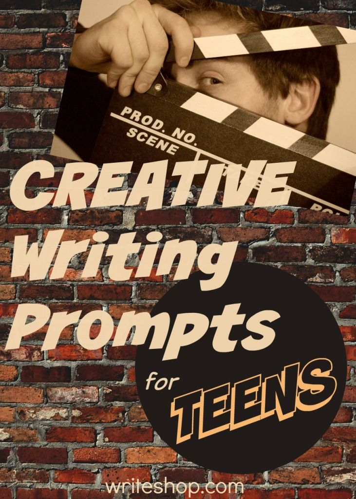 "Create ""short"" stories, turn an experience into a movie synopsis, and write from new points of view with these creative writing prompts for teens"