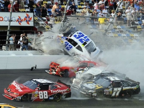Horrific NASCAR Wreck Injures Fans in Grandstands