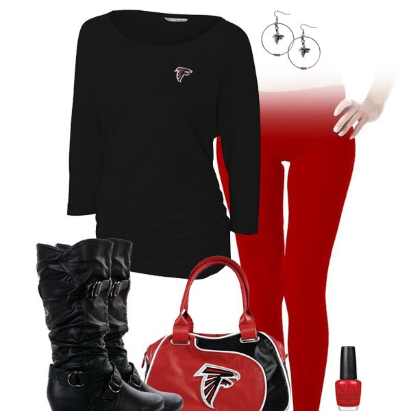 Atlanta Falcons Leggings Outfit