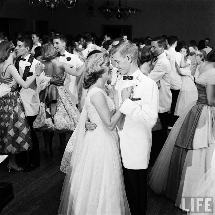 Students Dancing at the Mariemont High School Prom