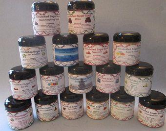 Emulsified Sugar Scrub, Body Scrub, Great Gifts, Exfoliate Skin, Handmade, Handcrafted, Exfoliating Scrub, Moisturize, Sugar Scrubs,