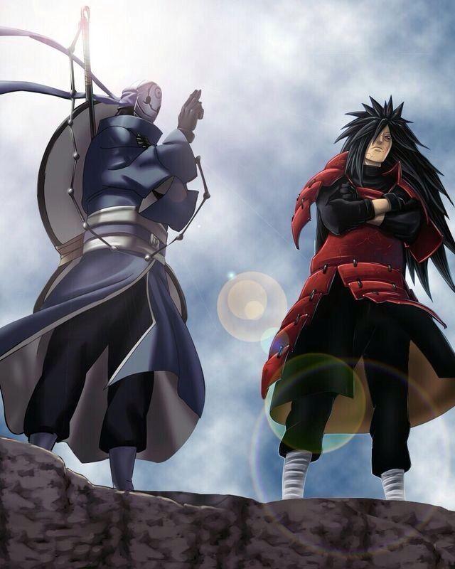 Naruto Antes de nascer seus pais tiveram uma longa luta pois no dia do seu nascimento um homem miste