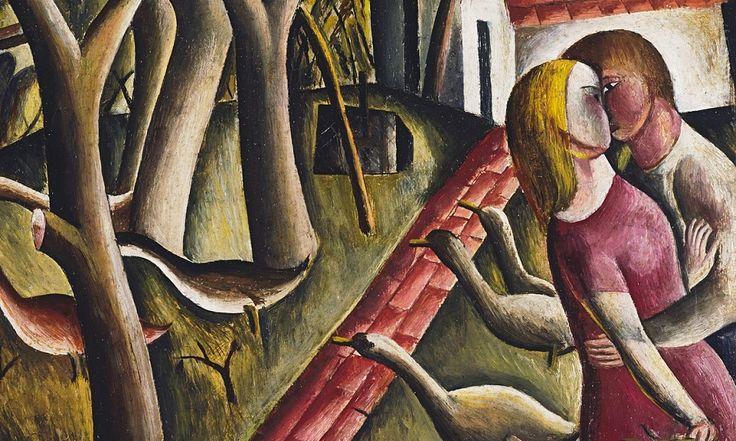Дэвид Джонс (1895 – 1974) был и живописцем и одним из британцев первого поколения модернистских поэтов.  И, хоть и многие любители искусства пишут, что он известен больше, как поэт, Джонс включен в число гениев ХХ века.  http://tanjand.livejournal.com/1549525.html