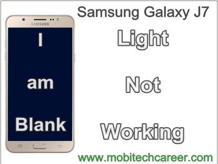 Samsung Phone Screen Repair - Galaxy J7 Display Light Not Working Solution http://ift.tt/2uMp2WG