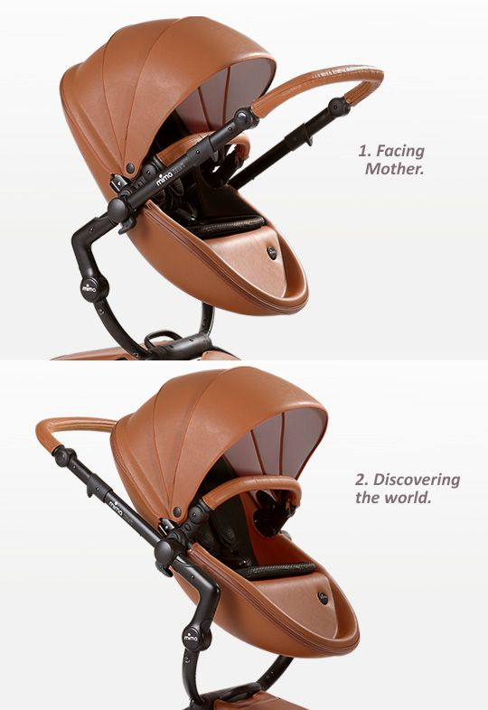 mima | xari | stroller  The reversible seat means that baby can face the parent as well as face forwards and discover the world. The triple layered, fan-style canopy offers partial, minimal or total shade. 2 height positions; an elevated ride or a lower, more conventional position. #celebstroller #modernmom #babyregistery
