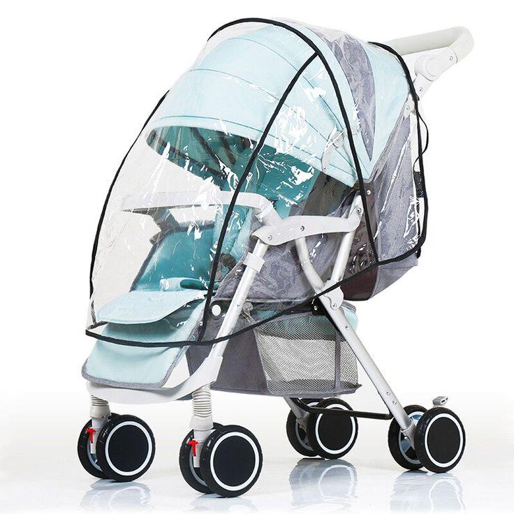 Baby car umbrella trolley stroller rain cover wheelchair