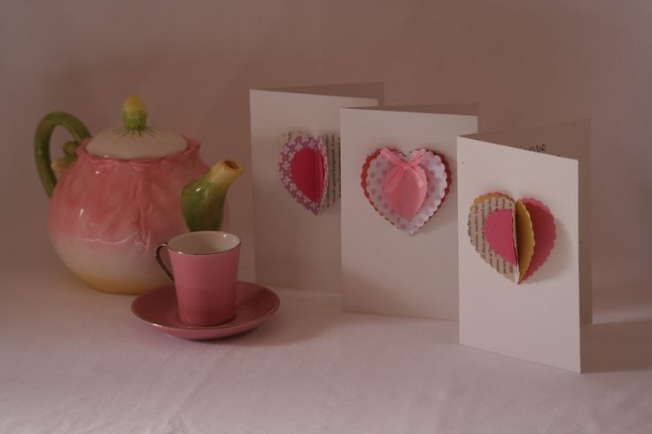 Layered Heart cards by Melrose & Co. (www.melroseandcompany.com)