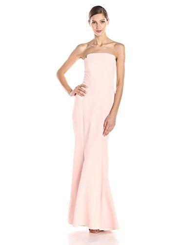 Jill Jill Stuart Women's Strapless Solid Gown $388.00