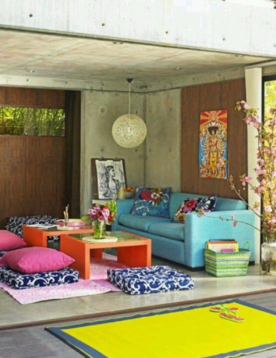 great teenage garage or basement place