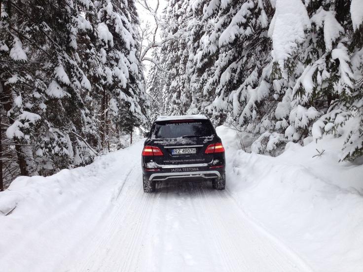 Safe Winter with Mercedes-Benz & GOPR in Białka Tatrzańska, Poland. // Bezpieczna Zima z Mercedes-Benz i GOPR w Białce Tatrzańskiej.