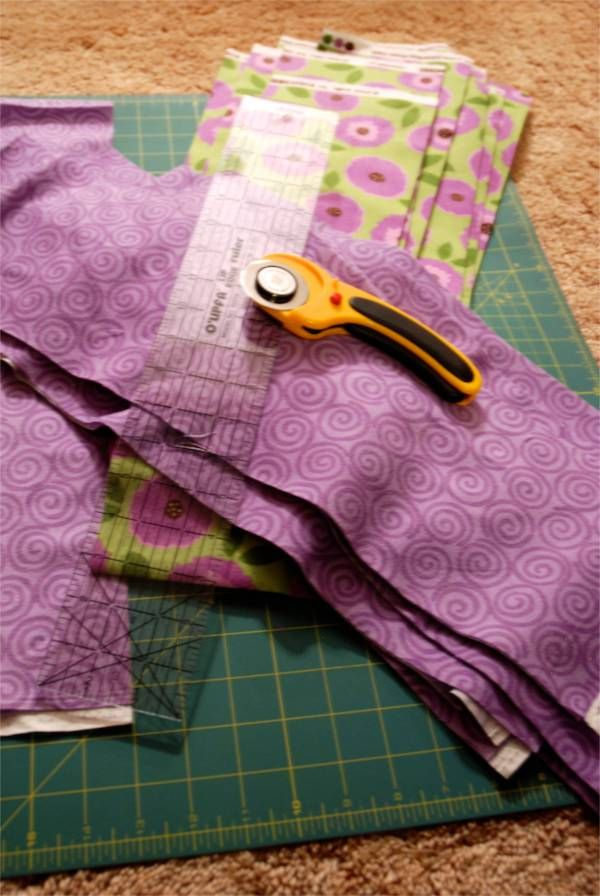 easy rag quilt instructions