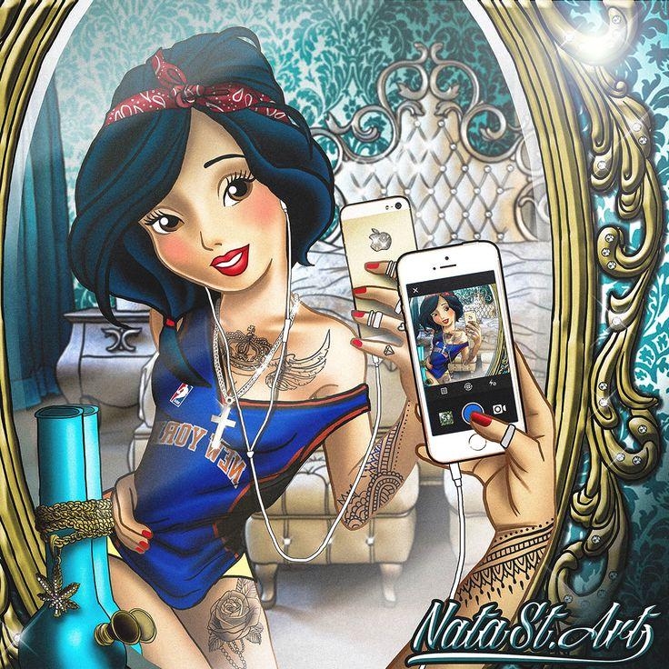 Swag Princess Snow White on Behance