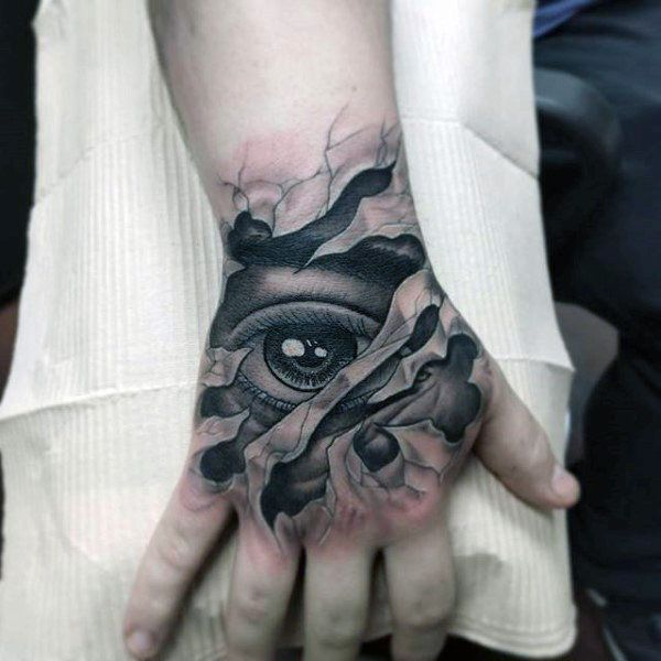 Top 100 Eye Tattoo Designs For Men A Complex Look Closer In 2020 Eye Tattoo Hand Tattoos Tattoo Designs Men
