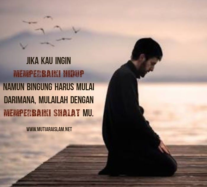 Gambar Kata Kata Inspirasi Hidup Islam Dengan Gambar Motivasi