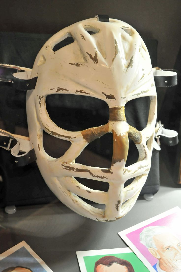 Ken Dryden, pretzel mask, Montreal Canadiens @ Canada's Sports Hall of Fame in Calgary, AB